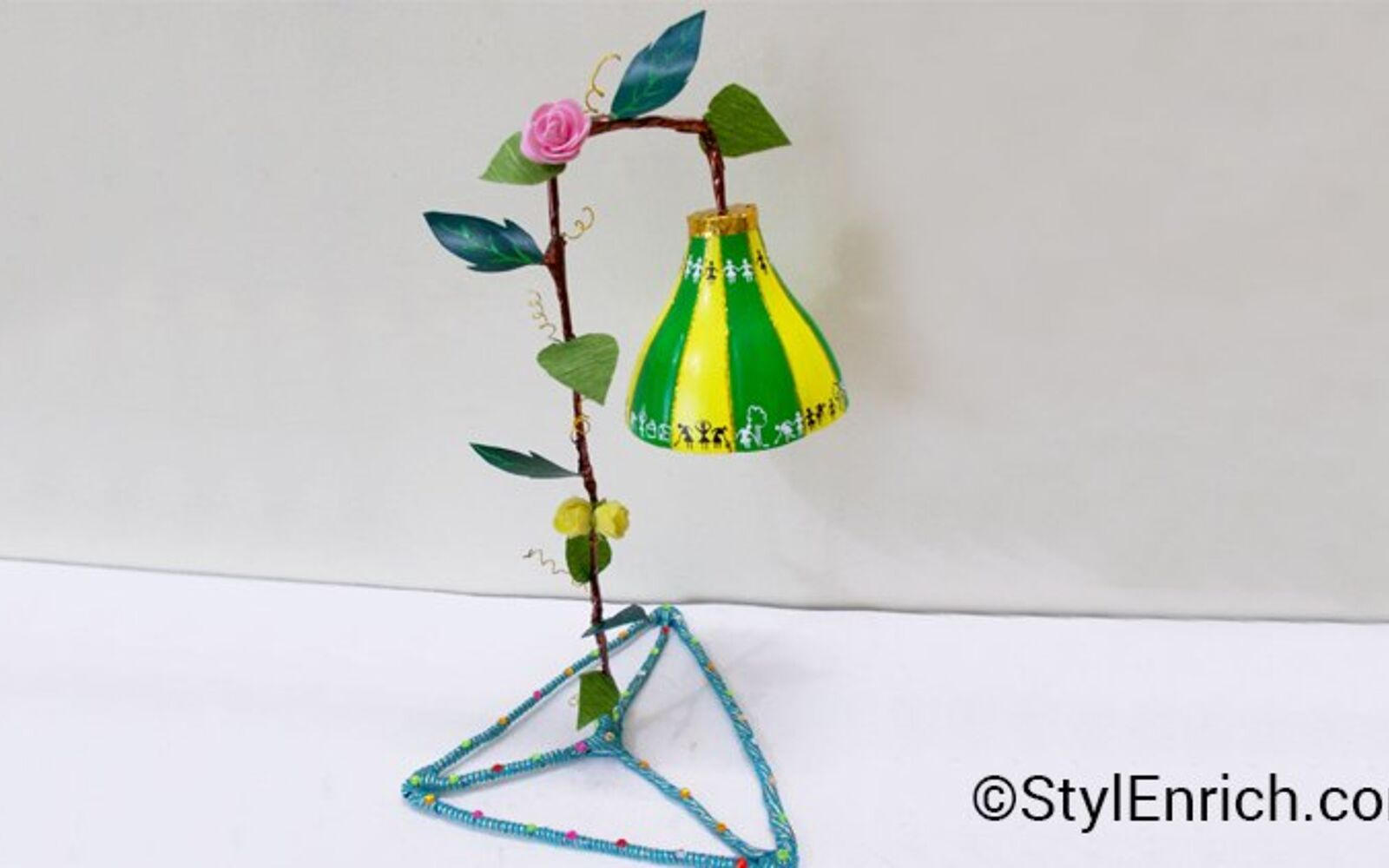 s 30 useful ways to reuse plastic bottles, Make a stunning lampshade