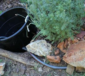 Underground Ez Access Hose Storage For 10, 8 Tub Bucket With Hose Hole  Cutout