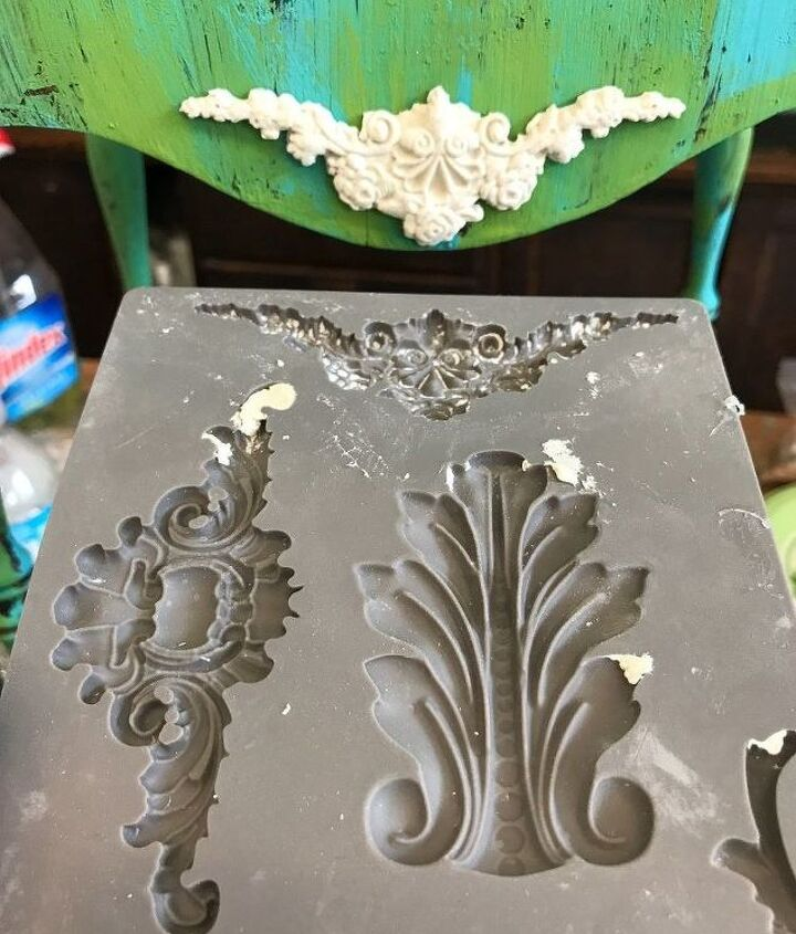 IOD Moulds using paperclay