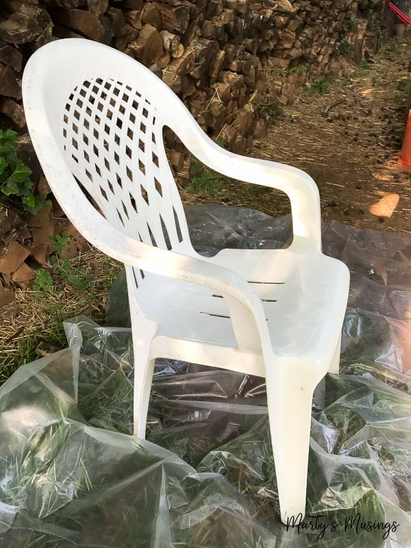 can you paint plastic wicker chairs krylon dual repainting a wicker