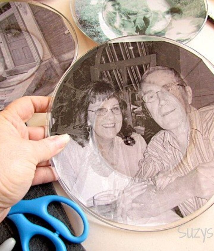s treasure these 15 photo projects for years to come, Purchase Dollar Store Plates To Decoupage