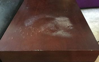 Quickly Remove Heat Stains From Wood!