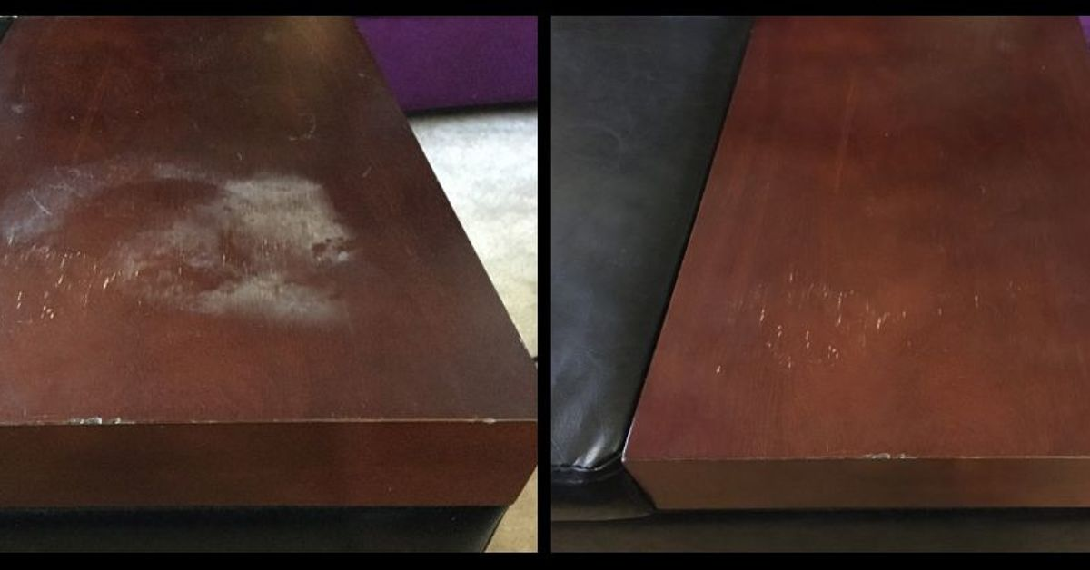 . Quickly Remove Heat Stains From Wood    Hometalk