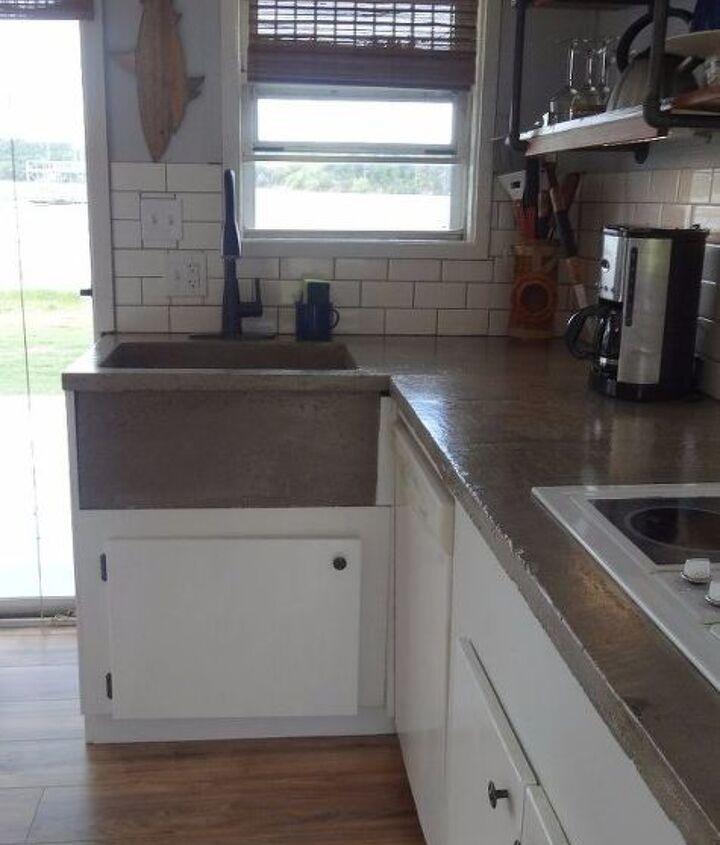 complete kitchen renovation on a tiny budget