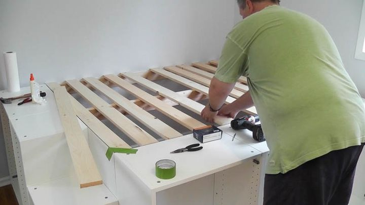Ikea Hack Platform Bed Diy Hometalk