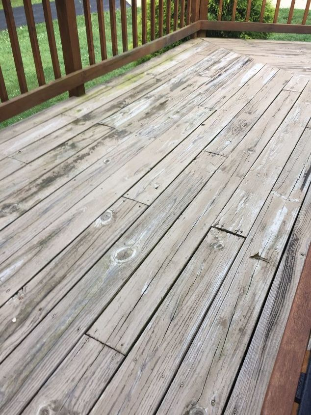 q how to remove deck restore off deck broads