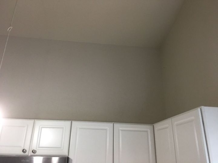 q i have space above my kitchen cabinets maybe 4 5 feet and need ideas f