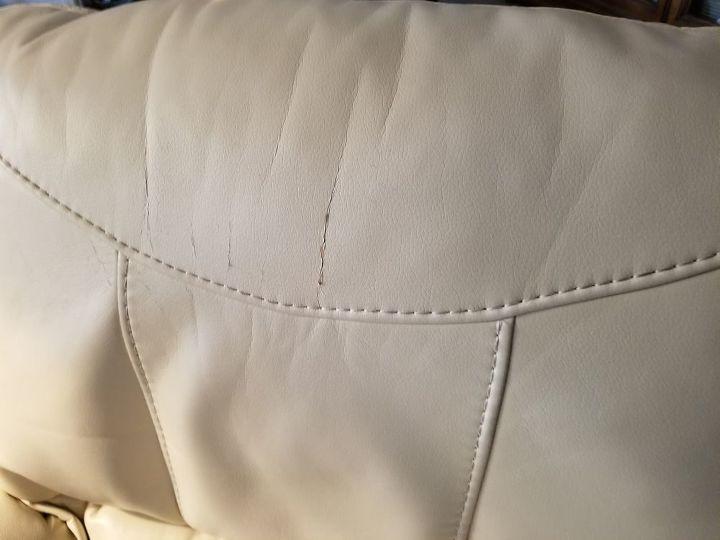 q faux leather repair