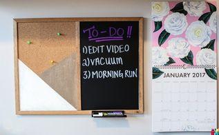 diy organizational room decor message boards polaroid display