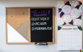 DIY Organizational Room Decor - Message Boards & Polaroid Display