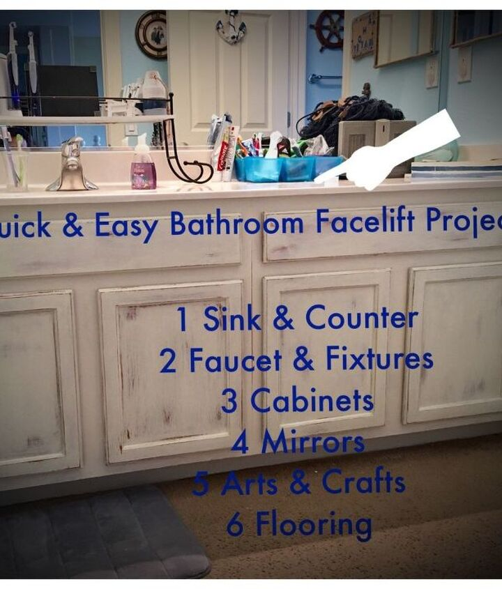 6 quick fix facelift ideas for builder grade bathrooms all under 100