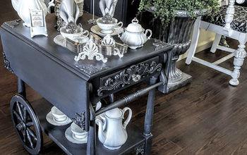 Vintage Tea Cart Redone