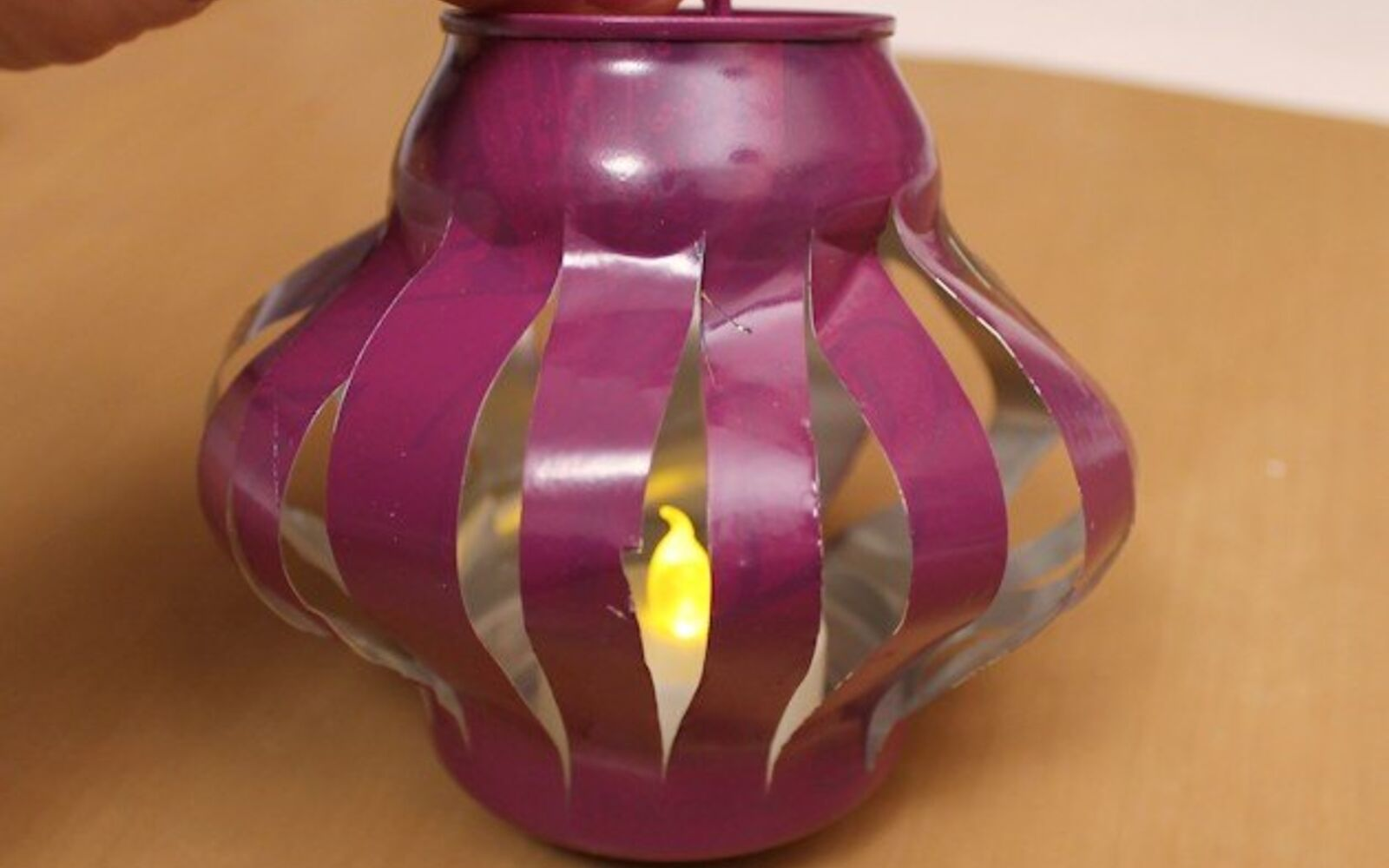 s save your old cans for these 30 home decor ideas, Turn them into glowing Chinese lanterns