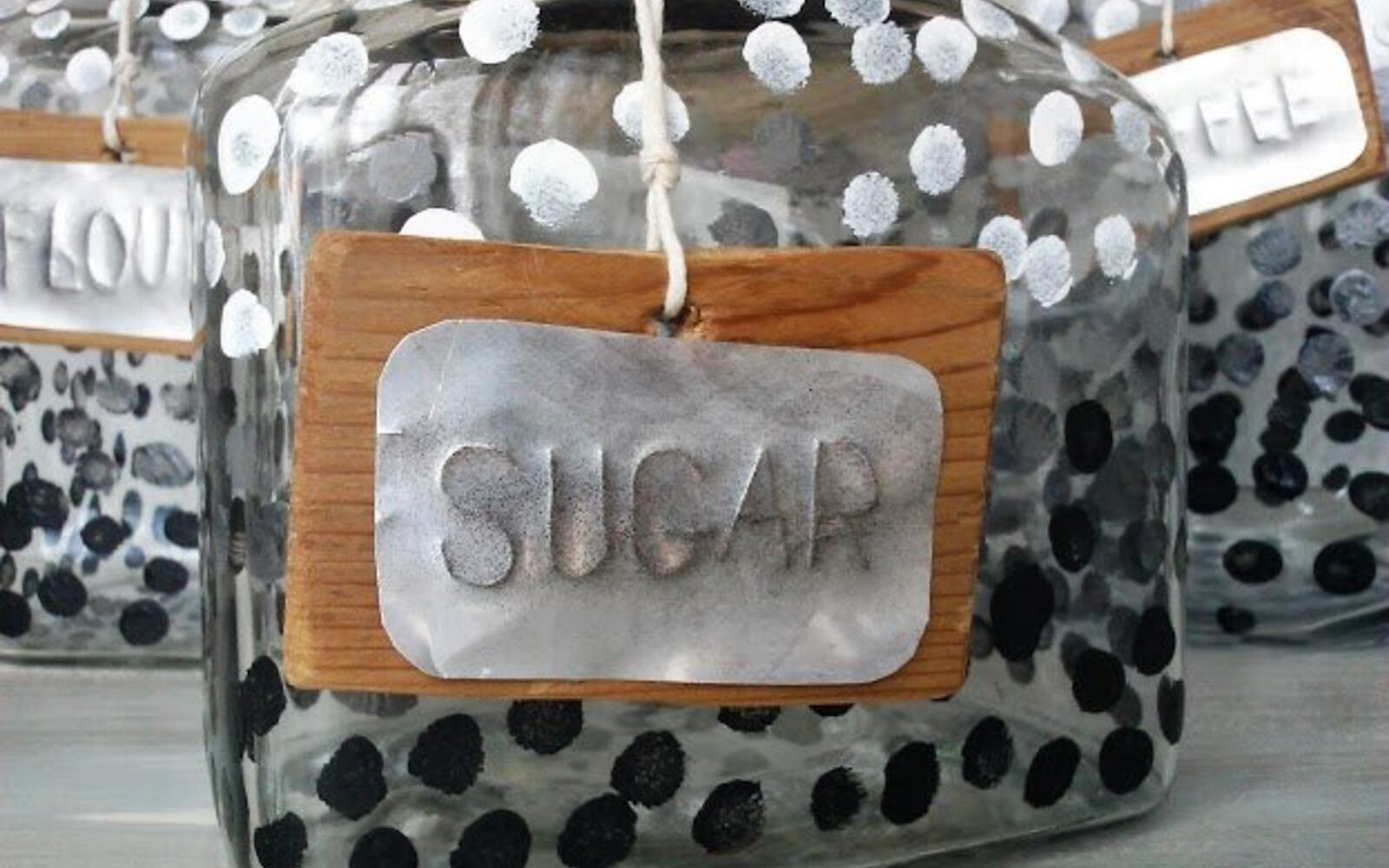 s save your old cans for these 30 home decor ideas, Emboss them into metal signs