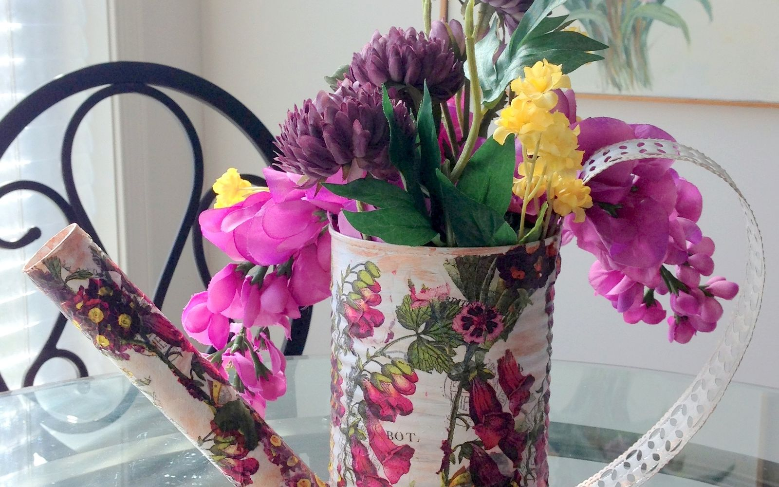 s save your old cans for these 30 home decor ideas, Craft a decorative watering can