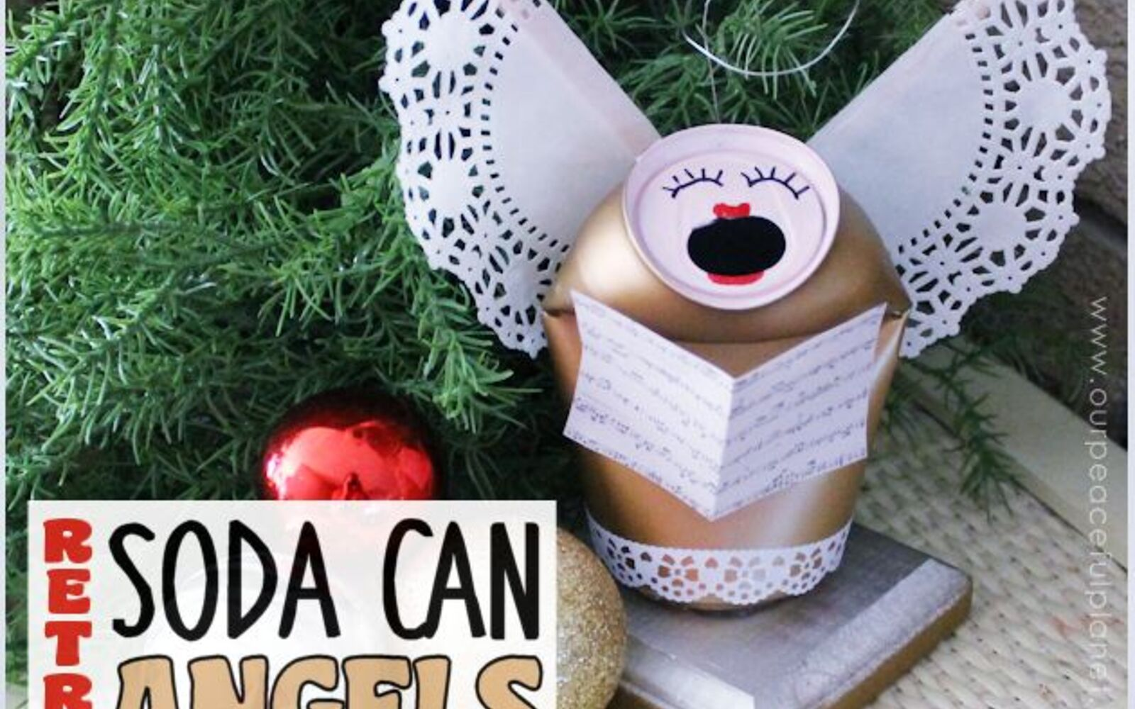 s save your old cans for these 30 home decor ideas, Turn them into soda angels
