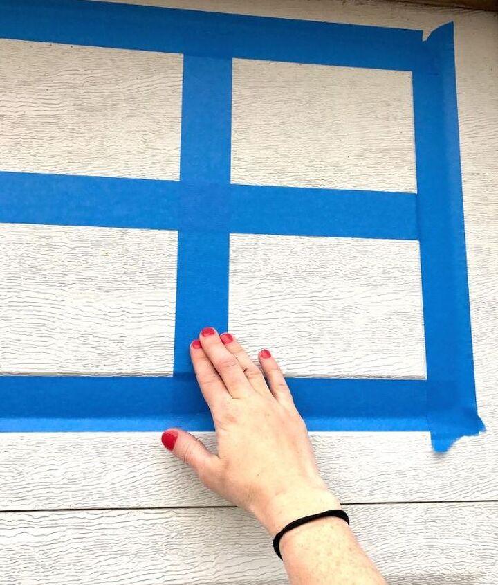 make your garage door look like it costs thousands with paint