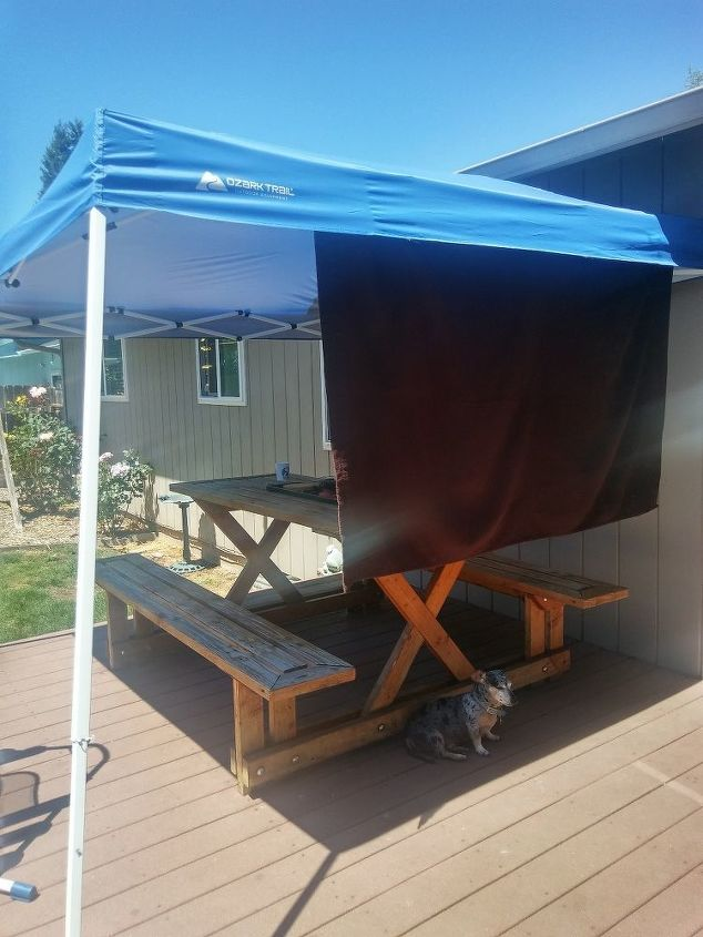 q how can i build a low cost deck cover