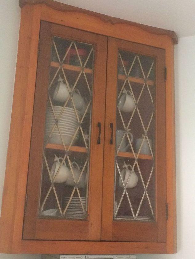 q leaded glass doors