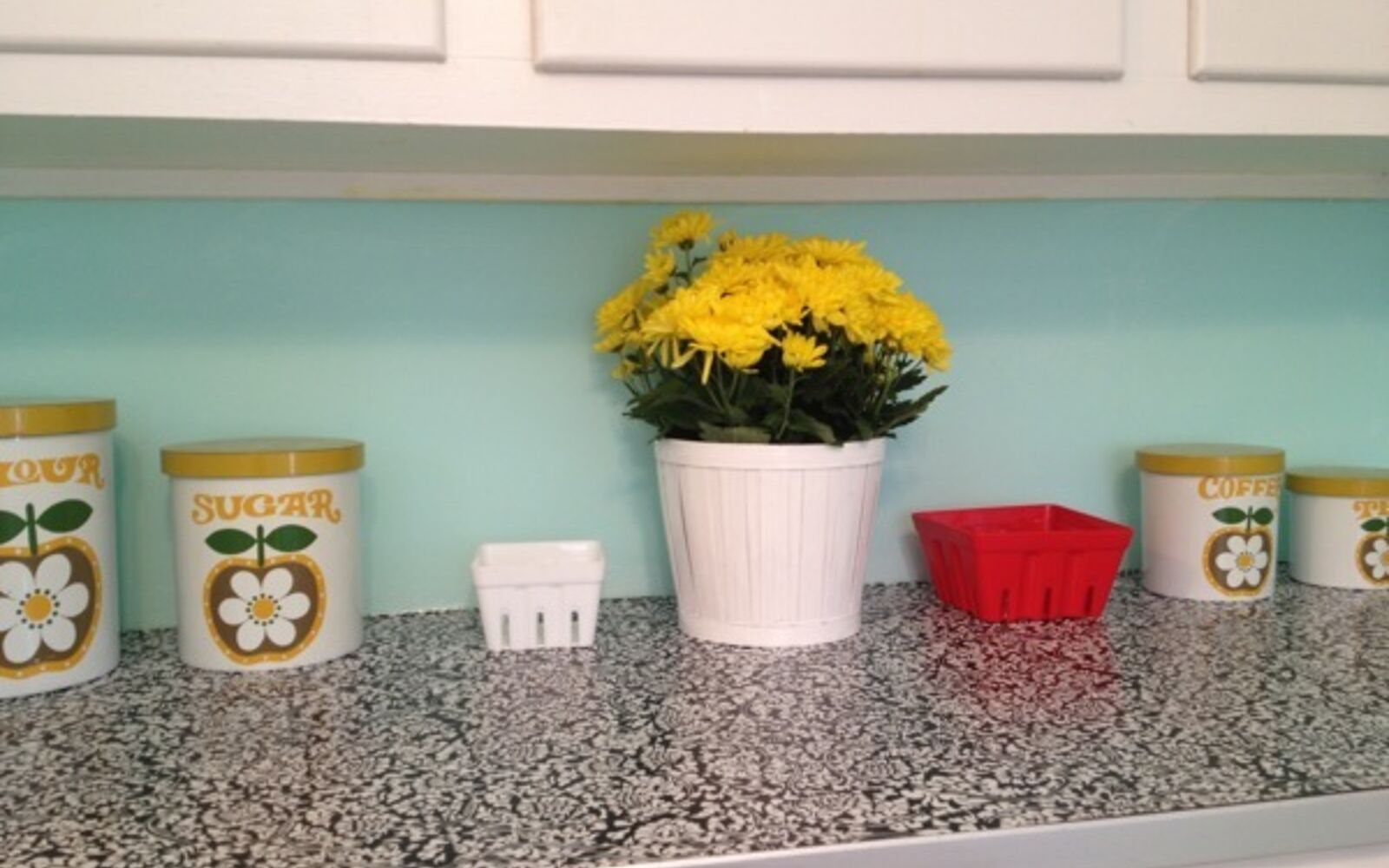 s 31 update ideas to make your kitchen look fabulous, Revive your countertop with contact paper