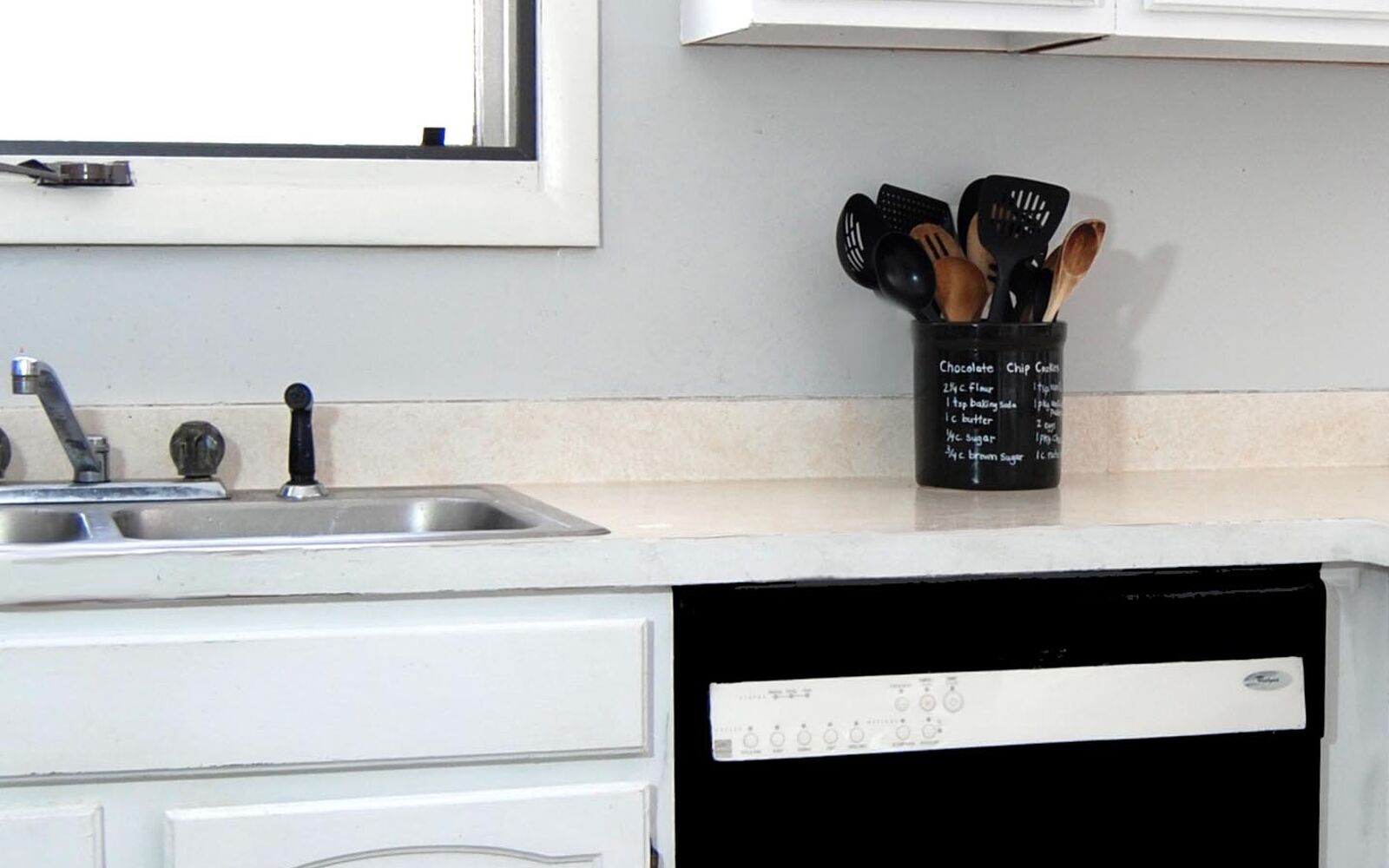 s 31 update ideas to make your kitchen look fabulous, Or transform your dishwasher with paint