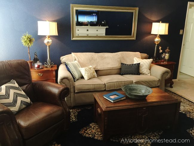 s hide your couch s wear and tear with these great ideas, Couch makeover on a dime
