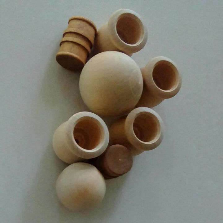 q what can i make with several wooden candle cups