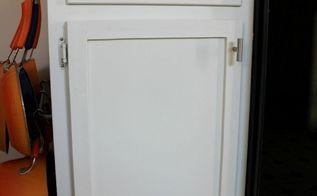 turn flat cabinet doors into shaker style