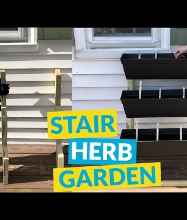 s 10 unique ways to plant your herb garden, Cover Your Stairs In Herbs