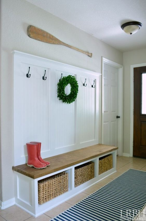 s beautify your entryway without breaking the bank, Have A Dreamy Mudroom That s Just Perfect