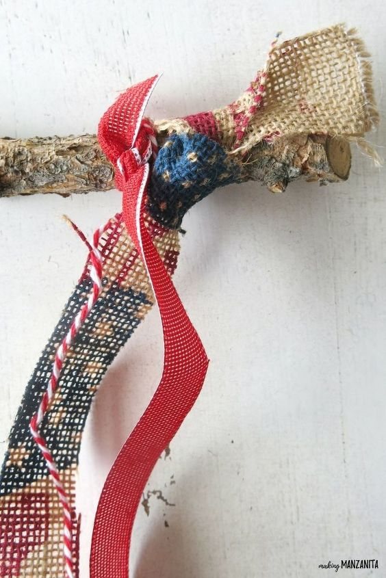 ribbon flag for 4th of july