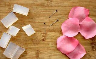 how to make soap petals