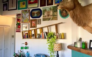 dramatic gallery wall makeover