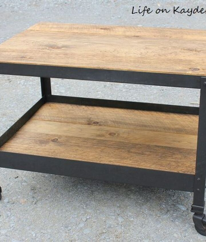 s 15 affordable pottery barn hacks perfect for your budget, Get Ironclad With This 20 Industrial Table
