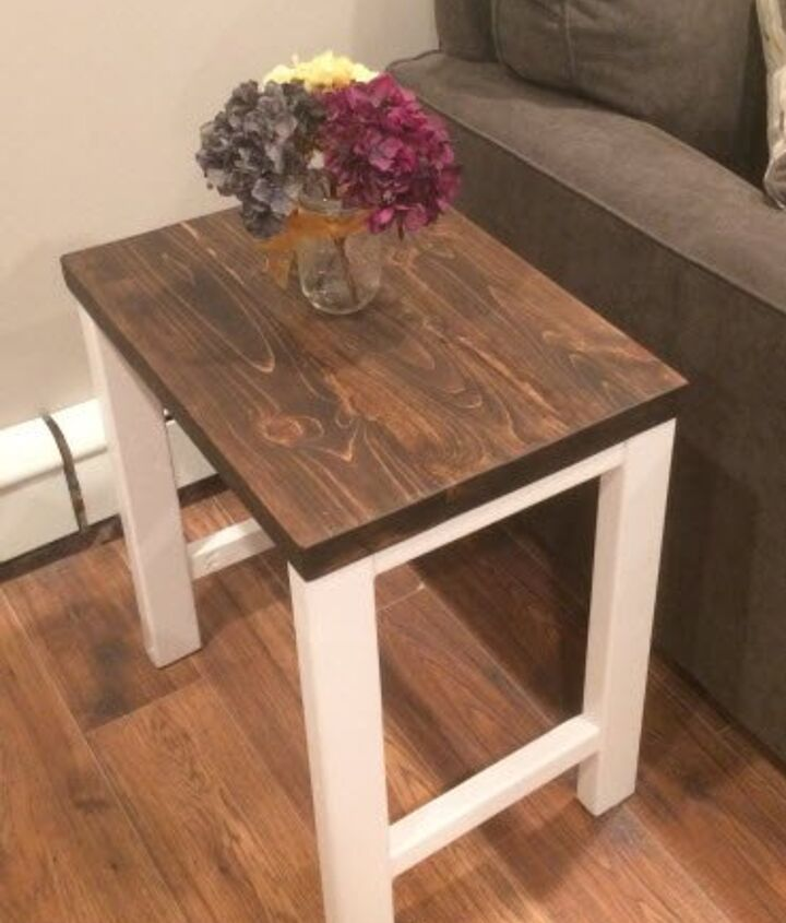 s 15 affordable pottery barn hacks perfect for your budget, Skip Spending 500 And Build An End Table