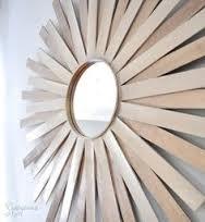 q how can i make a sunburst mirror