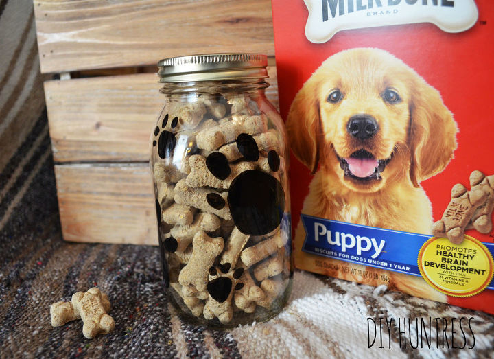 s 30 great ideas for every pet owner, Use A Mason Jar For Storing Treats