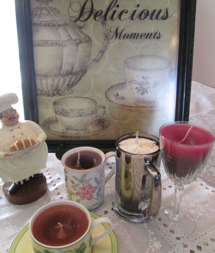 s 15 gorgeous homemade candle ideas you re going to want to try, These beverage themed candles