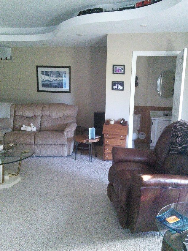 q how can i layout my furniture in this awkward room