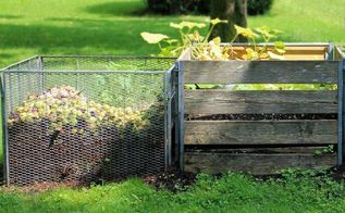balancing a compost pile