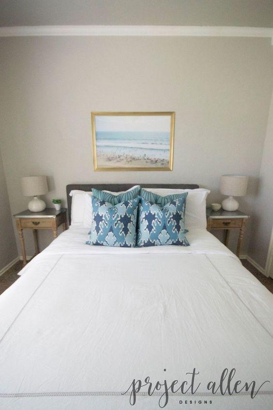 modern coastal boys room reveal