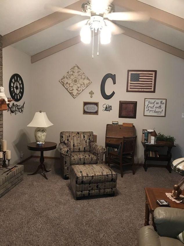 q how can i arrange the furniture in my unusual livingroom