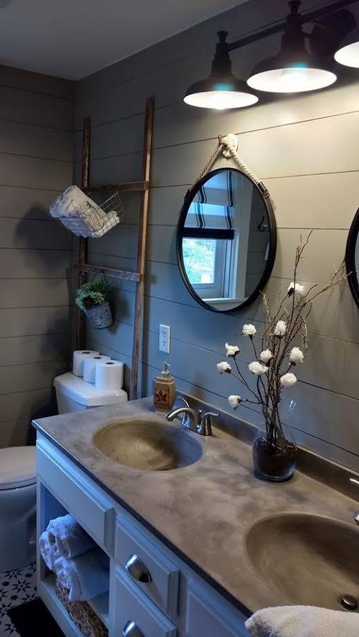 Completed My 1990\'s Bathroom Reveal! | Hometalk