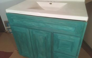 Bathroom Vanity in Custom Color!