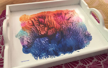 """""""Imagination"""" - Serving Tray Gets a SPiTacular Makeover and Then Some"""