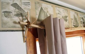 Natural Curtain Rods