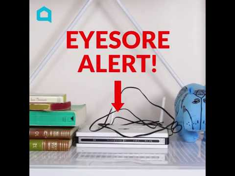s 15 useful tips for covering up every eyesore in your home, Keep Routers Out Of Your Sight