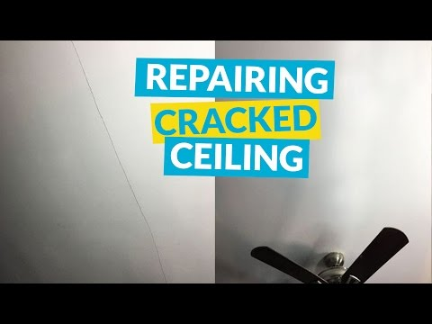 s 15 useful tips for covering up every eyesore in your home, Erase Ceiling Cracks With Mesh