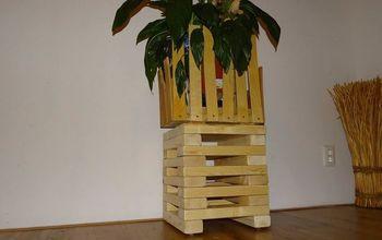 refurbished jenga wooden stool diy