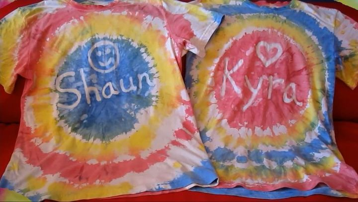 personalized tie dye pillow cases with acrylic paint